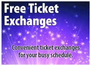 Free ticket exchanges. Convenient ticket exchanges for your busy schedule.